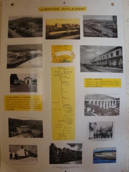 Spoorweg info, La Bastide-Puylaurent