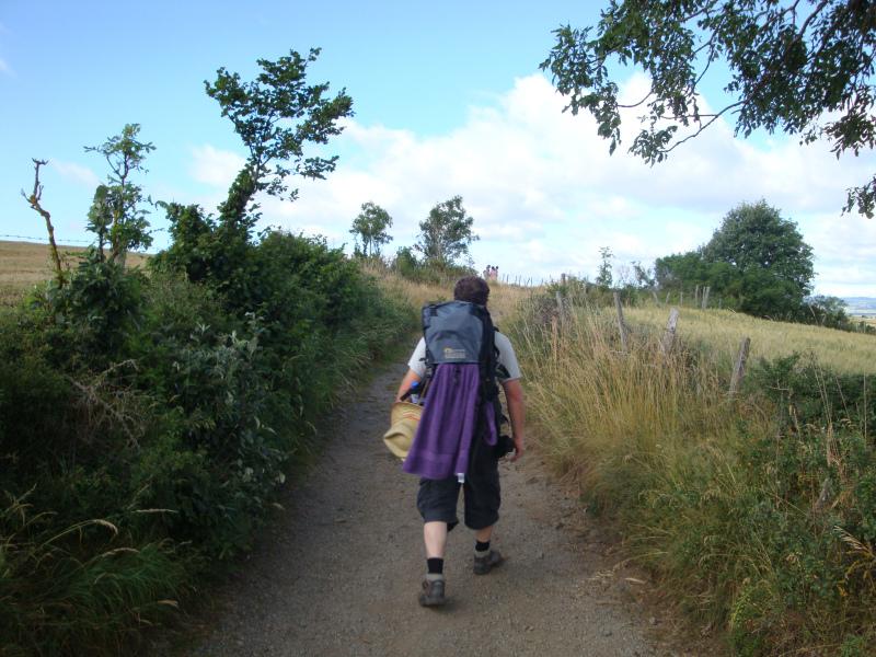 Op pad! Door de Auvergne, net buiten Le Monastier sur-Gazeille