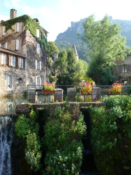 het stuwdammetje in Florac