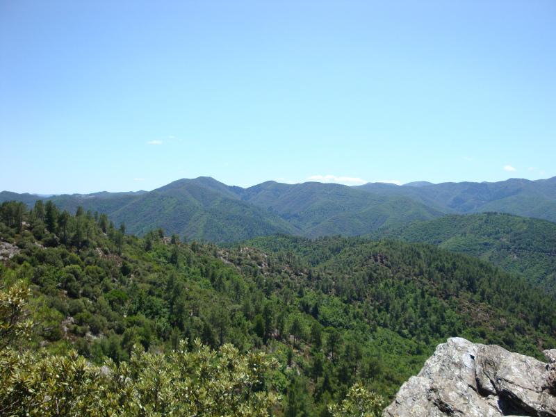 uitzicht vanaf de Col de Saint-Pierre (596 m)