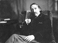 portret Robert Louis Stevenson