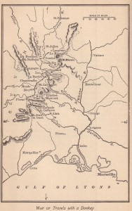 The Annotated 'Travels with a Donkey in the Cévennes'/Map